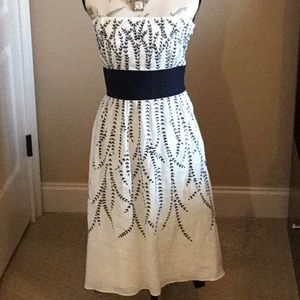 Ann Taylor Embroidered Dress